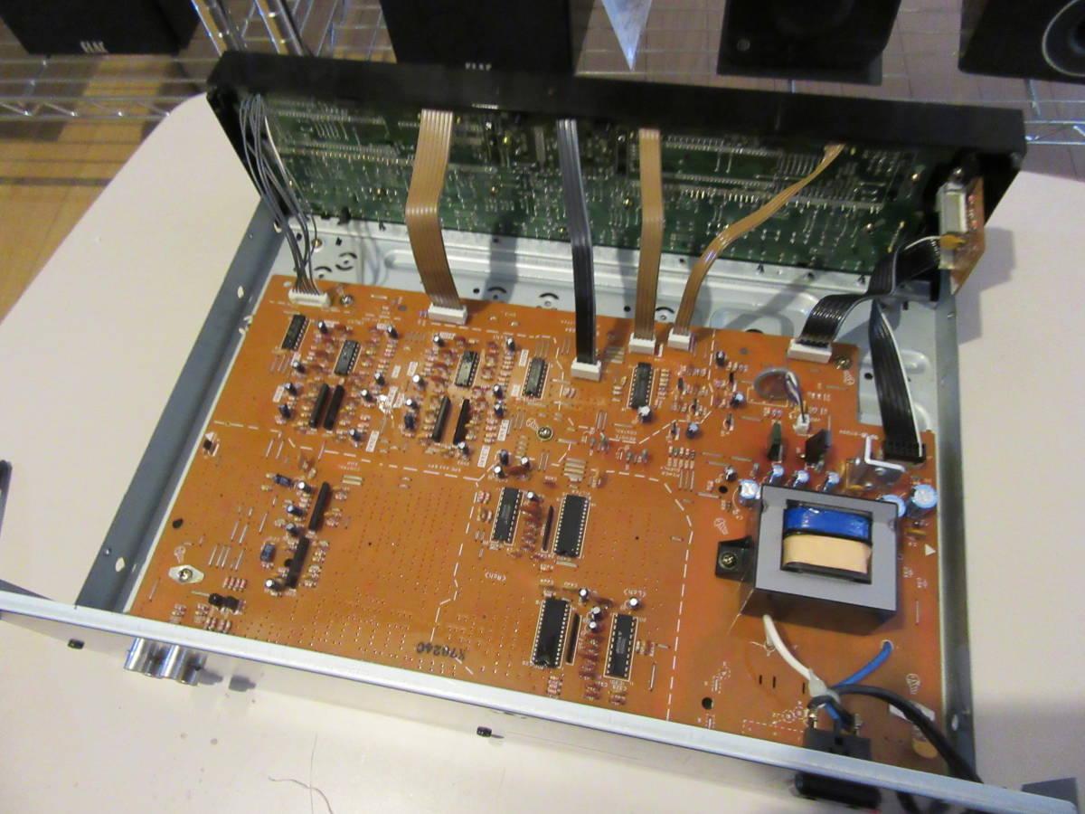 Technics SH-E70A 7バンド ステレオグラフィックイコライザー スペアナ表示 中古品 内部清掃 接点洗浄 メンテナンス施行済み 動作品_画像9
