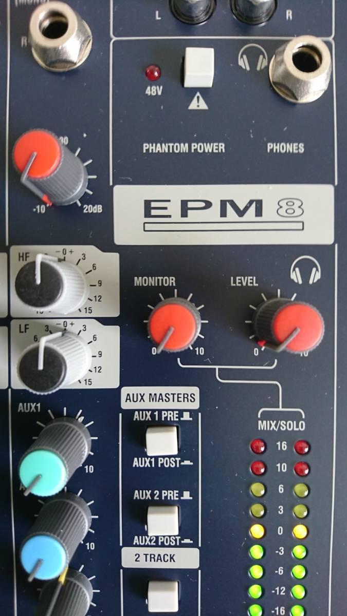 Soundcraft EPM 8「美品中古動作品」_画像2