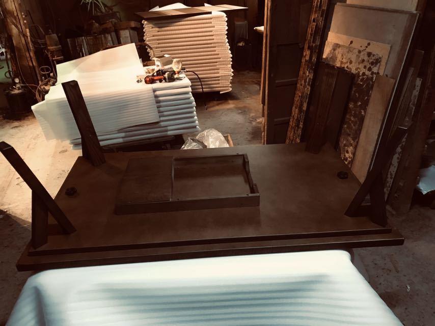 おしゃれこたつテーブル120日本製・ヒーター別売り_画像3