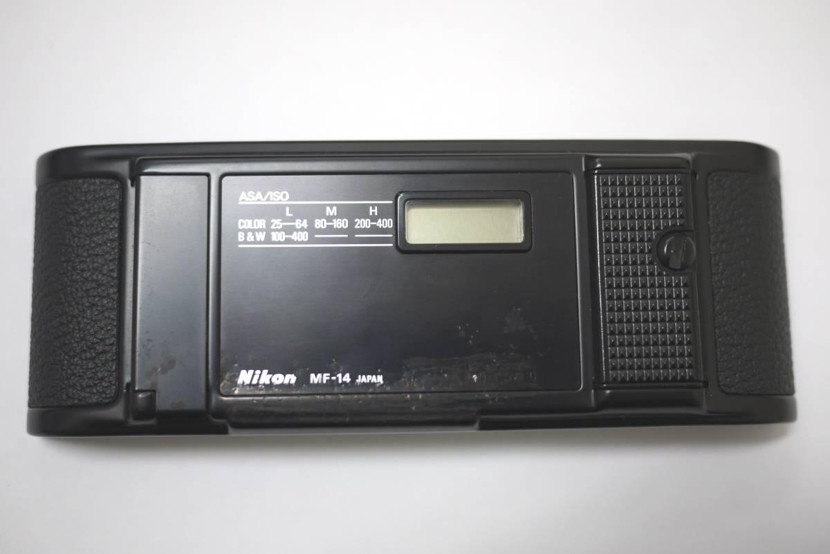 11*ジャンク Nikon ニコン アイレベルファインダー DE-2 裏蓋 MF-14 F3 カメラ レンズ アクセサリー 裏ブタ _画像4