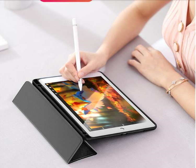 ipad mini5 ケース iPad mini(第5世代) 7.9インチ ケース 手帳型 シリコン スタンド オードスリーブ機能_画像10