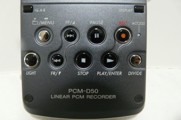 Hし57N SONY ソニー リニア PCM レコーダー PCM-D50_画像3
