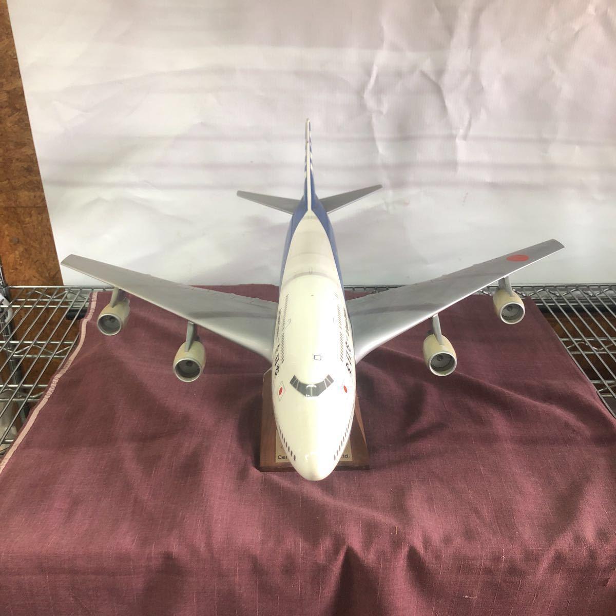 格安!売り切り!全日空 All Nippon Airways Lease Financing of Boeing 747-400 Aircraft 航空機 ボーイング 模型 置物 ANA_画像4