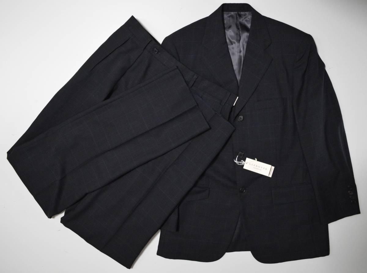 ☆最終お値引き☆新品 GLENOVER スーツ AB5 定価約7~10万 イタリア製生地 グレンオーバー ■新品・お買い得・即決あります■1884 _画像1