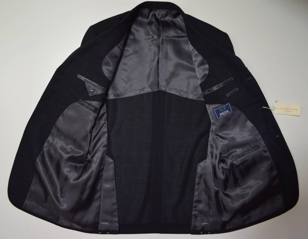 ☆最終お値引き☆新品 GLENOVER スーツ AB5 定価約7~10万 イタリア製生地 グレンオーバー ■新品・お買い得・即決あります■1884 _画像4