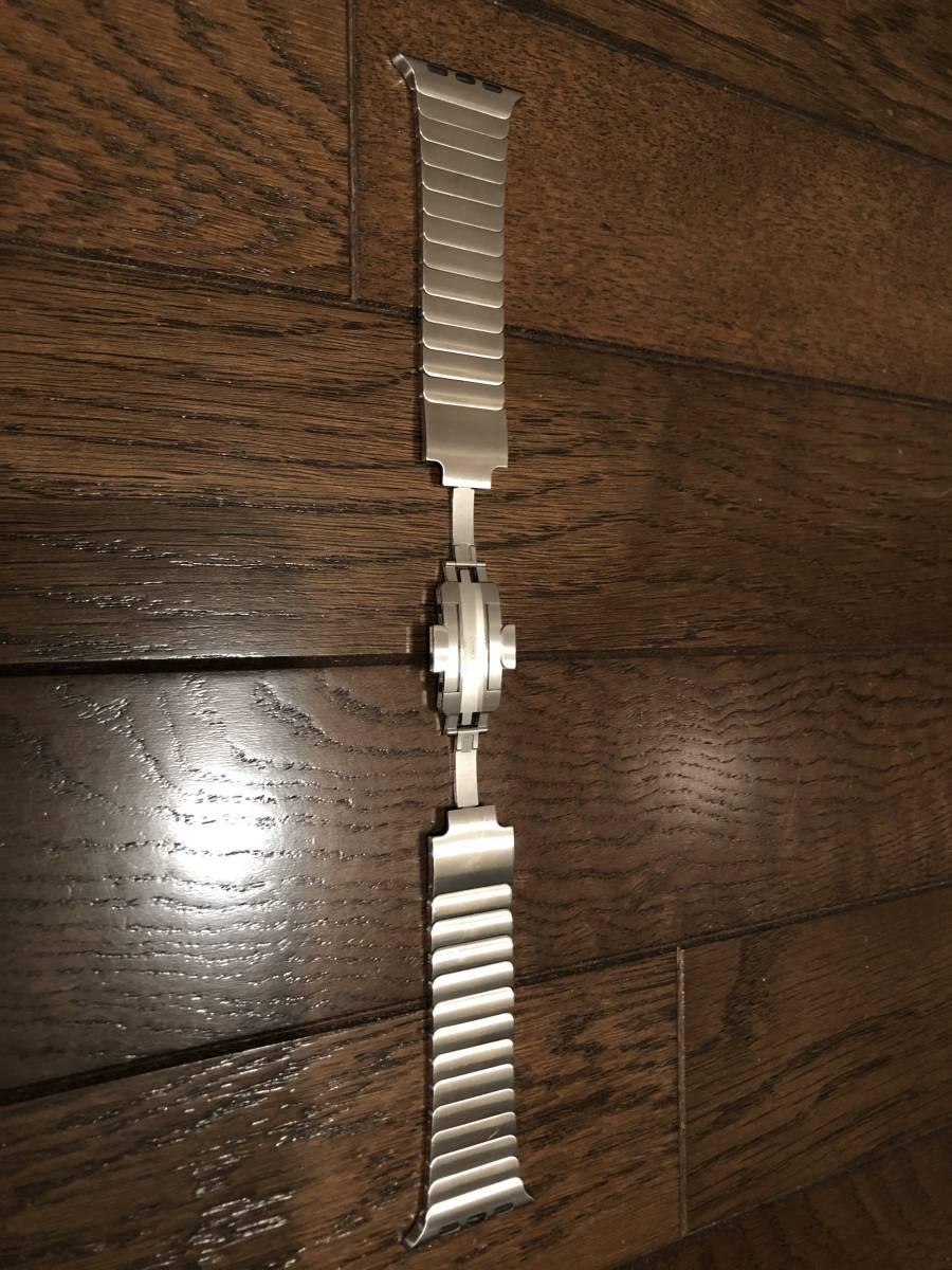 Apple Watch 42mm ステンレスリングブレスレット(中古)_画像2