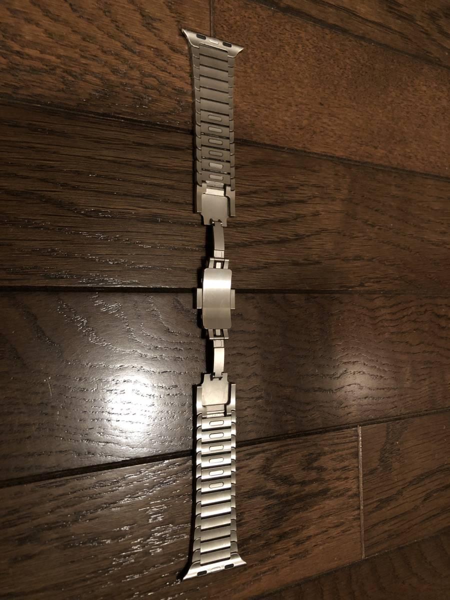 Apple Watch 42mm ステンレスリングブレスレット(中古)_画像3
