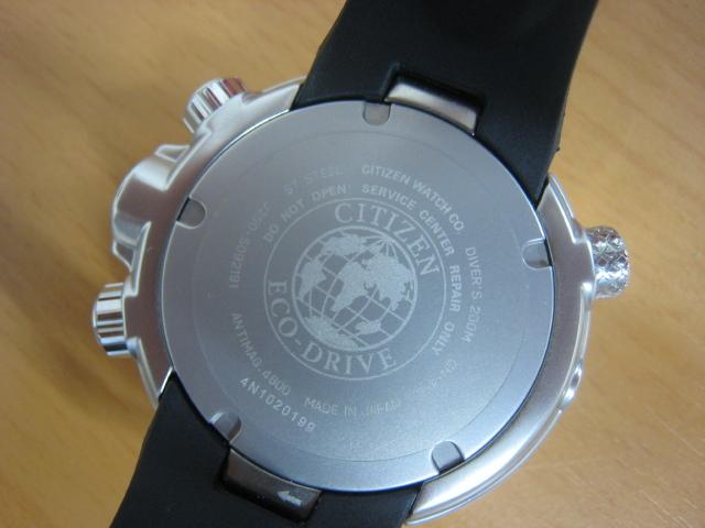 極美品 箱・保付 シチズン CITIZEN 腕時計 PROMASTER プロマスター エコ・ドライブ マリンシリーズ アクアランド200m ダイバー BN2021-03E _画像8