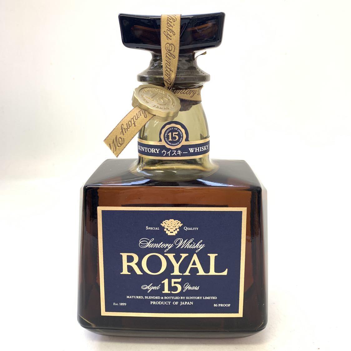古酒 サントリー ウイスキー ローヤル ROYAL 15年 700ml 未開封