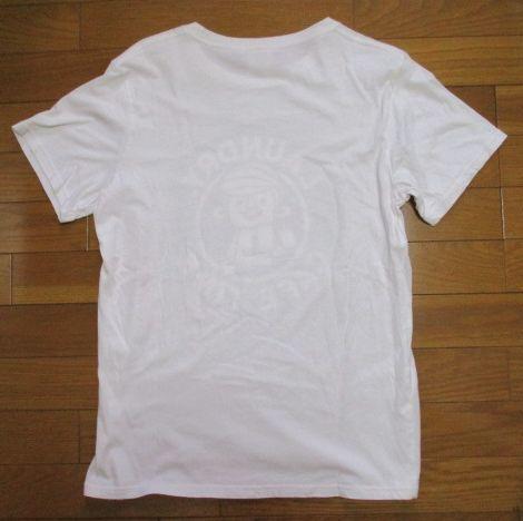 Laundry スタバ風 白 Tシャツ Mサイズ CAFE TIME ロゴ コーヒー ランドリー_画像5