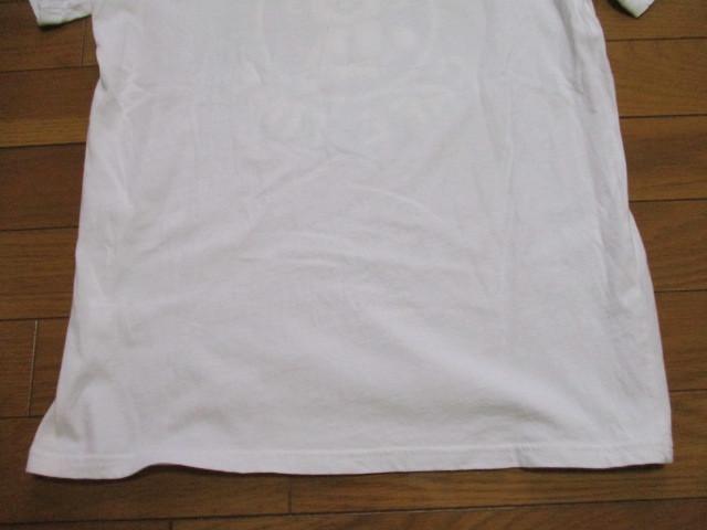 Laundry スタバ風 白 Tシャツ Mサイズ CAFE TIME ロゴ コーヒー ランドリー_画像6