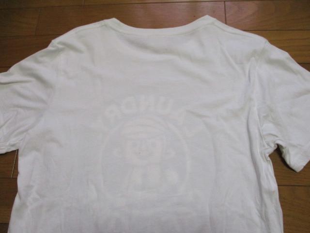Laundry スタバ風 白 Tシャツ Mサイズ CAFE TIME ロゴ コーヒー ランドリー_画像7