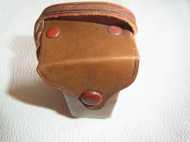■極希少 極美品 完動品 1947年発売(昭和22年)■理研光学(現リコー)豆カメラ『Steky 1型』16ミリフィルム 【純正ケース、フィルター付】_画像8