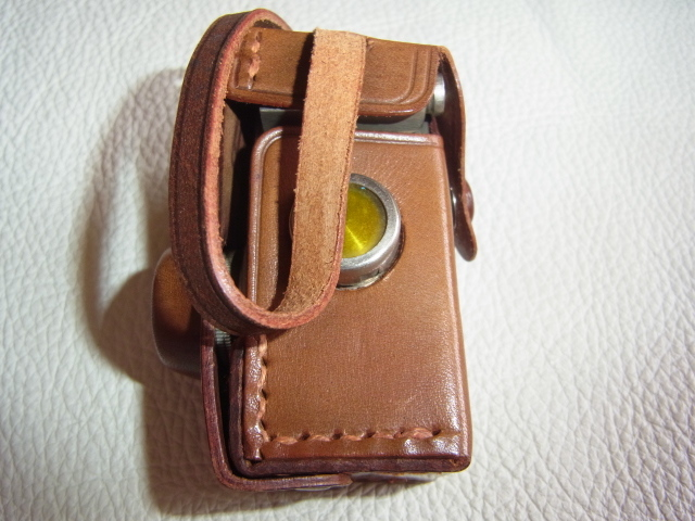 ■極希少 極美品 完動品 1947年発売(昭和22年)■理研光学(現リコー)豆カメラ『Steky 1型』16ミリフィルム 【純正ケース、フィルター付】_画像7