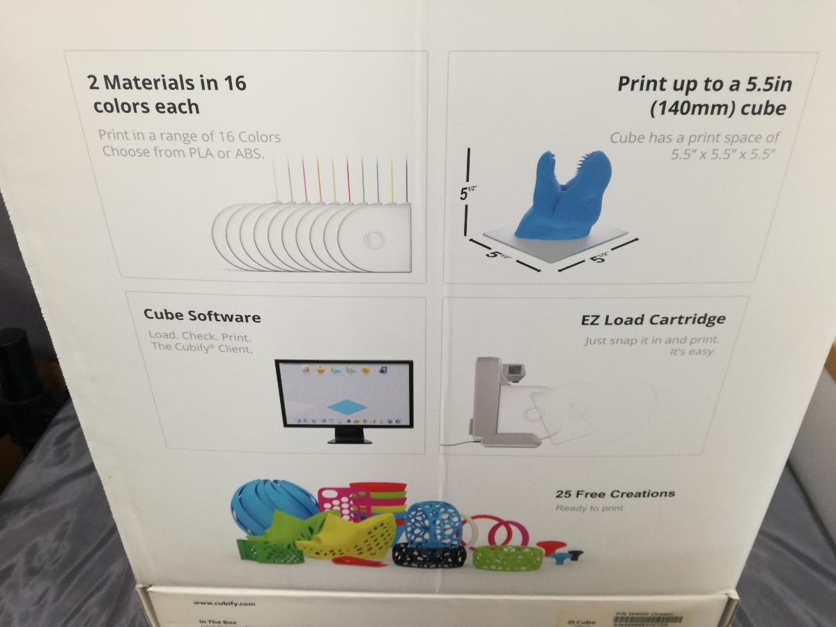 J956 展示品 未使用品 送料無料 Cube 3Dプリンター 2nd Generation グリーン 自作 シンプル DIY 工作 3Dプリンタ本体 Wi-Fi接続可能_画像4