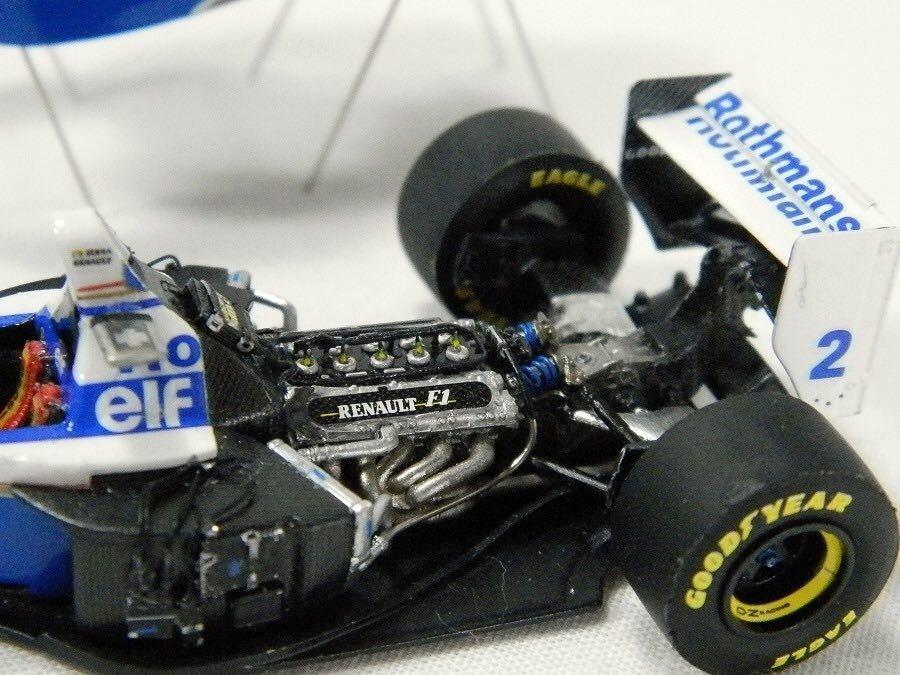 MFH 1/43 ウイリアムズ FW16 1994 サンマリノGP アイルトン セナ フルディティール 完成品 モデル ファクトリー ヒロ_画像9