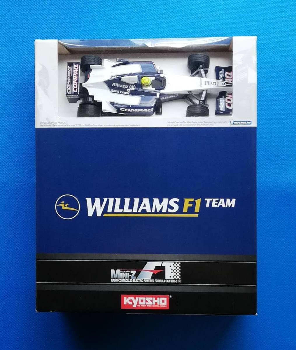 ★ 京商 ★ 新品 未走行 ミニッツ レーサー ウイリアムズ F1 FW23 NO.5 MINI-Z Racer