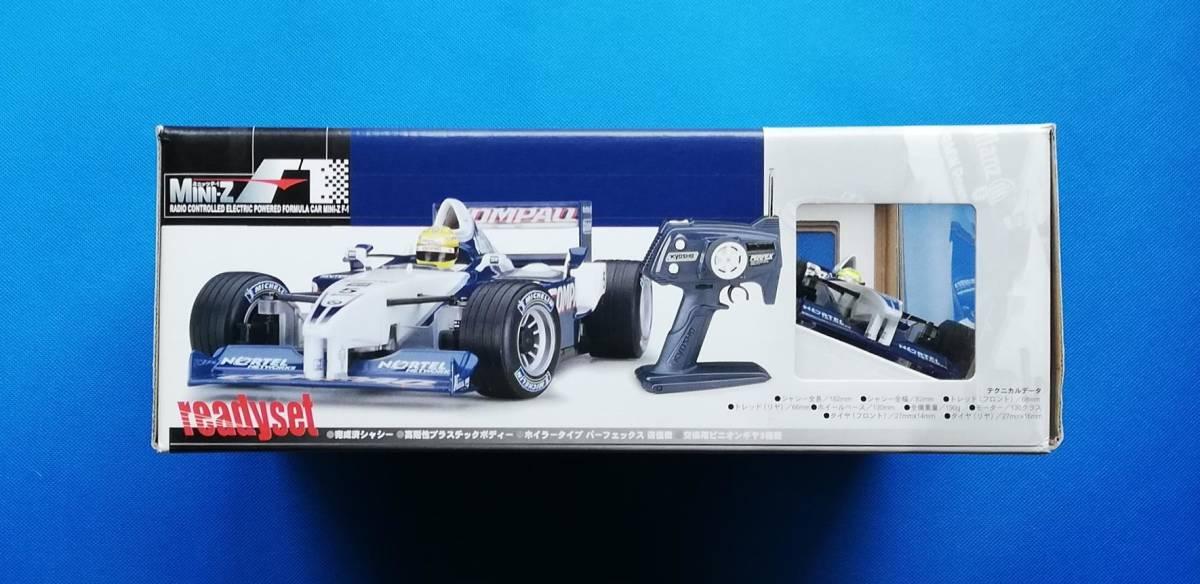 ★ 京商 ★ 新品 未走行 ミニッツ レーサー ウイリアムズ F1 FW23 NO.5 MINI-Z Racer_画像5