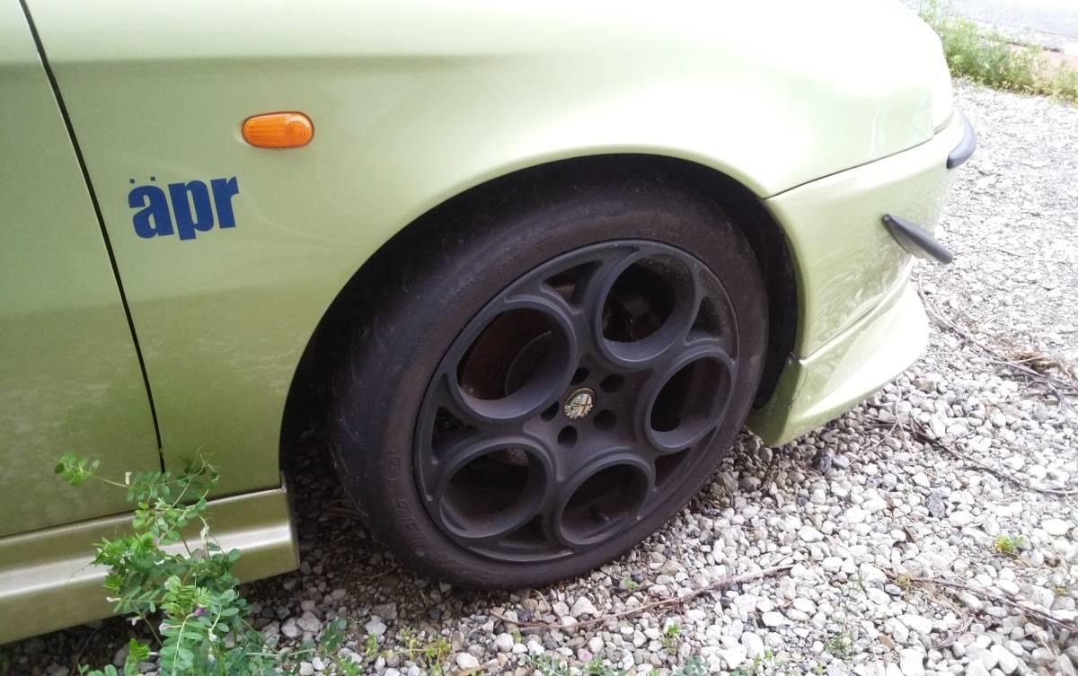 売り切り アルファロメオ147 改 サーキット 走行会 車高調 マフラー シビック インテグラ より 速い 距離少ない_画像5