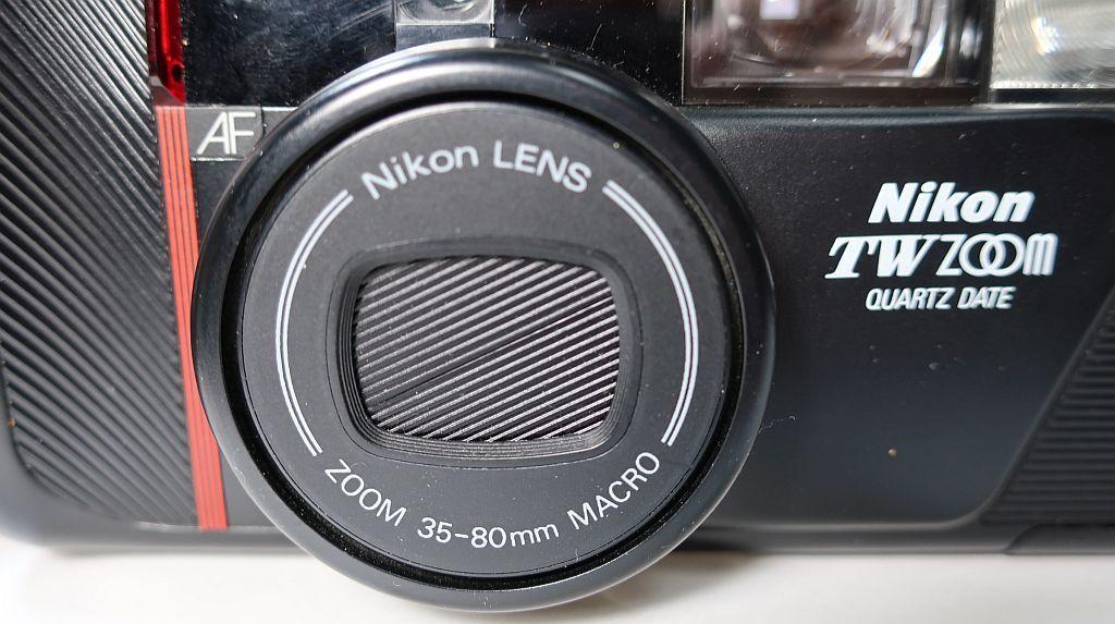 Nikonニコン PICAICHIピカイチ TW ZOOM QUARTZ DATE コンパクトカメラ35mm/F3.5~80mm/F7.8 1988年式_画像5