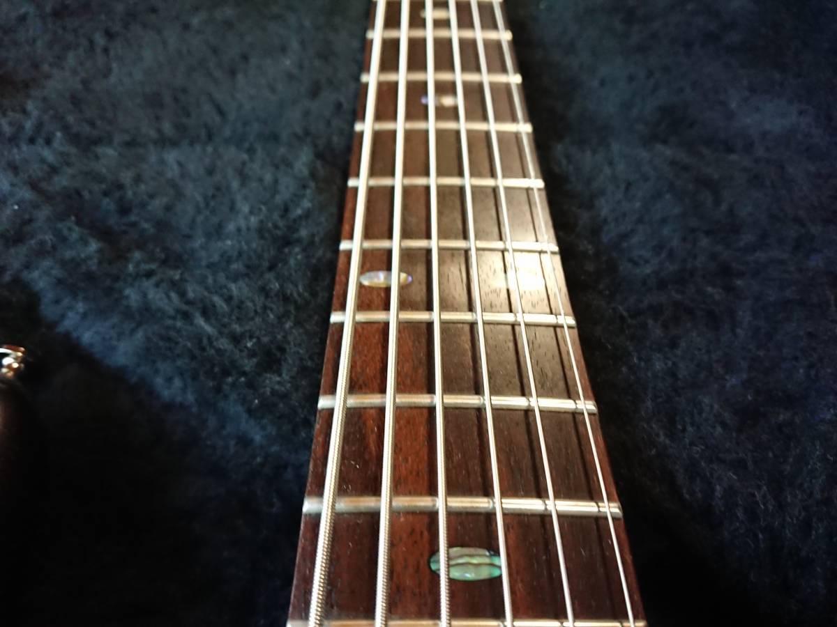 Ibanez SRC6 アイバニーズ バリトンギター 製造終了品!絶版美品!専用スペア弦付!baritone フジゲン グレコ フェンダー ギブソン_画像4