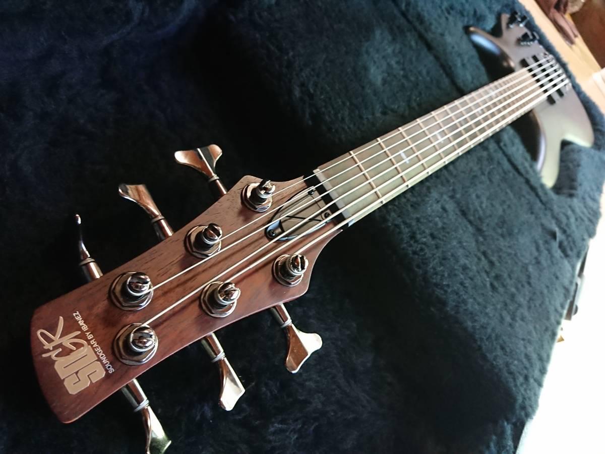 Ibanez SRC6 アイバニーズ バリトンギター 製造終了品!絶版美品!専用スペア弦付!baritone フジゲン グレコ フェンダー ギブソン_画像6