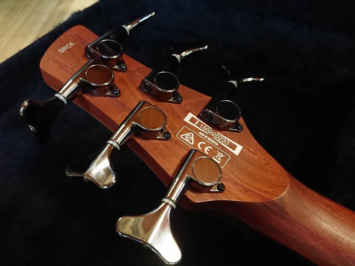 Ibanez SRC6 アイバニーズ バリトンギター 製造終了品!絶版美品!専用スペア弦付!baritone フジゲン グレコ フェンダー ギブソン_画像10