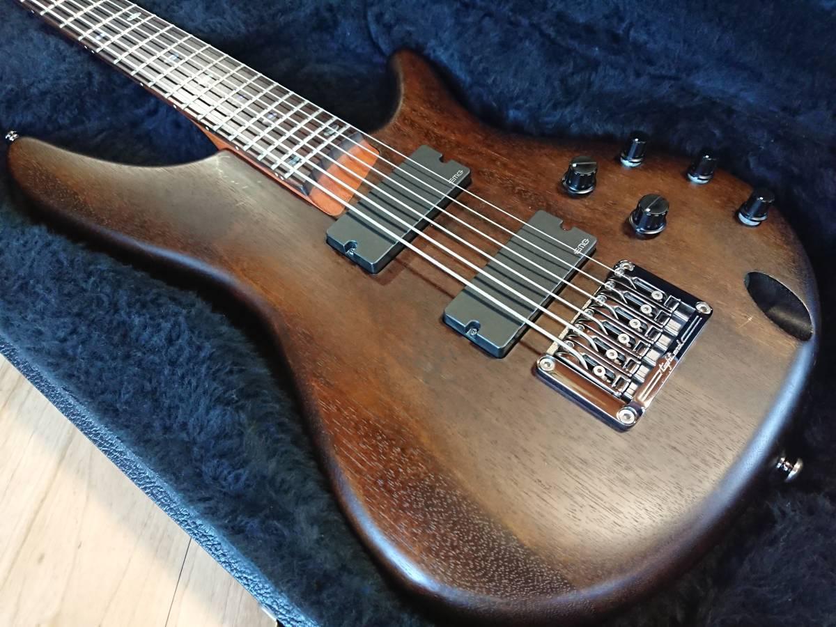 Ibanez SRC6 アイバニーズ バリトンギター 製造終了品!絶版美品!専用スペア弦付!baritone フジゲン グレコ フェンダー ギブソン_画像2