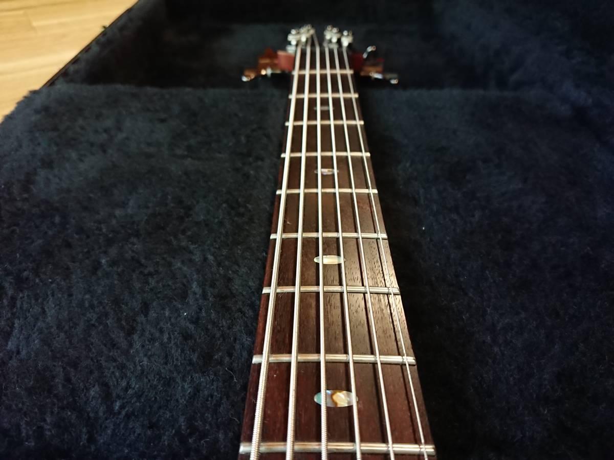 Ibanez SRC6 アイバニーズ バリトンギター 製造終了品!絶版美品!専用スペア弦付!baritone フジゲン グレコ フェンダー ギブソン_画像5
