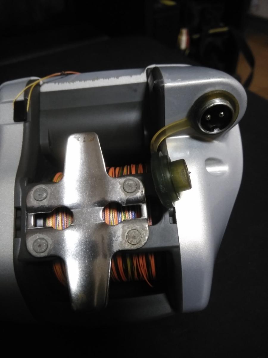 ダイワ電動リール スーパータナコン X600動作確認品 PE6号300m新品未使用品付_画像7