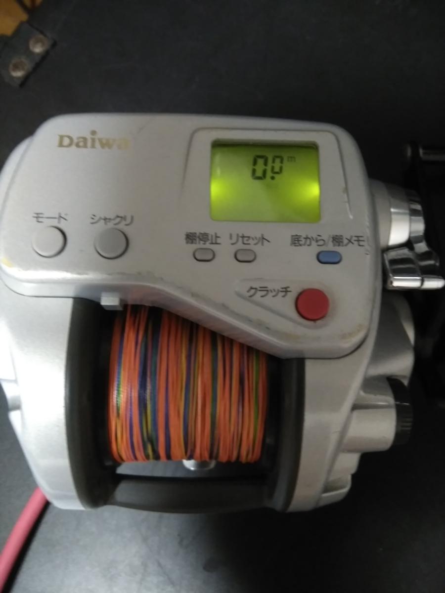 ダイワ電動リール スーパータナコン X600動作確認品 PE6号300m新品未使用品付