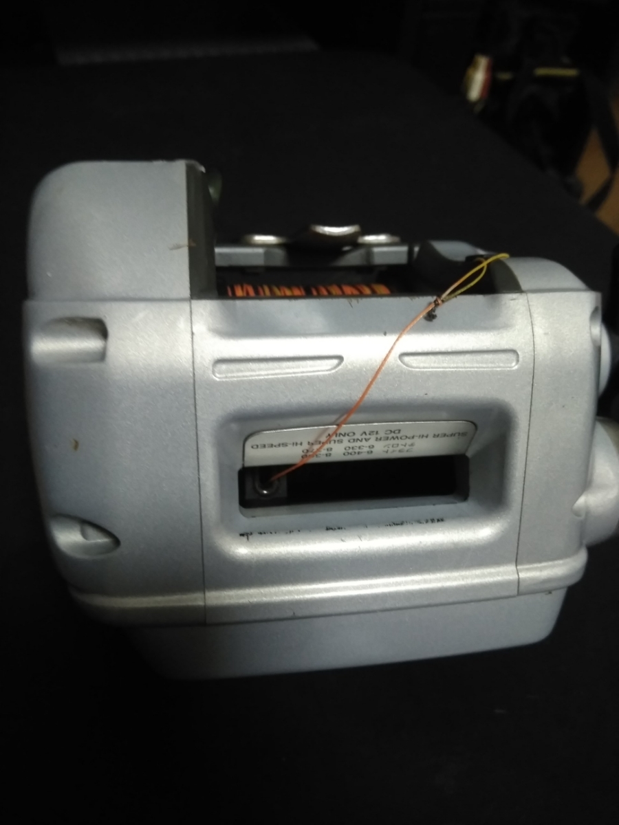 ダイワ電動リール スーパータナコン X600動作確認品 PE6号300m新品未使用品付_画像5