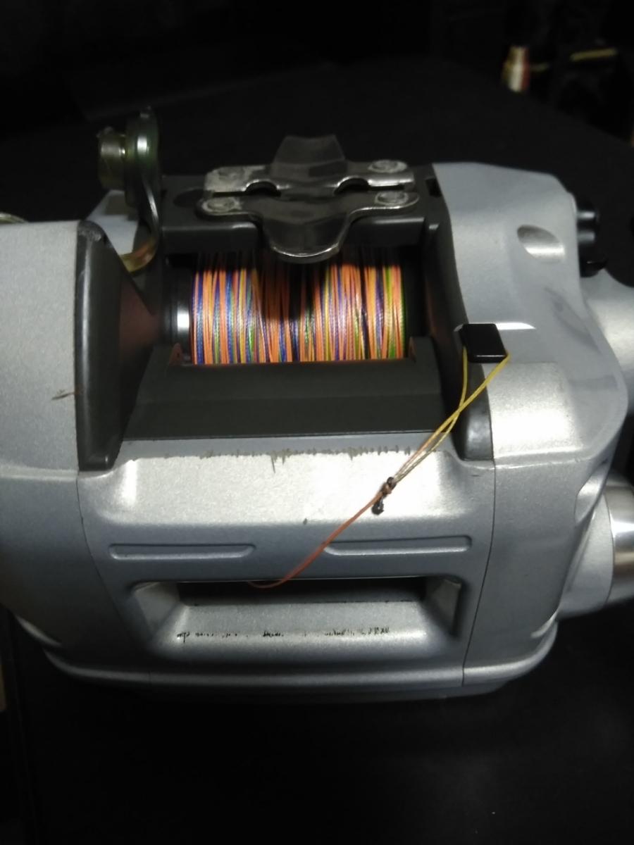 ダイワ電動リール スーパータナコン X600動作確認品 PE6号300m新品未使用品付_画像6
