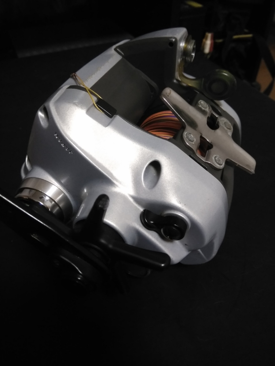 ダイワ電動リール スーパータナコン X600動作確認品 PE6号300m新品未使用品付_画像3