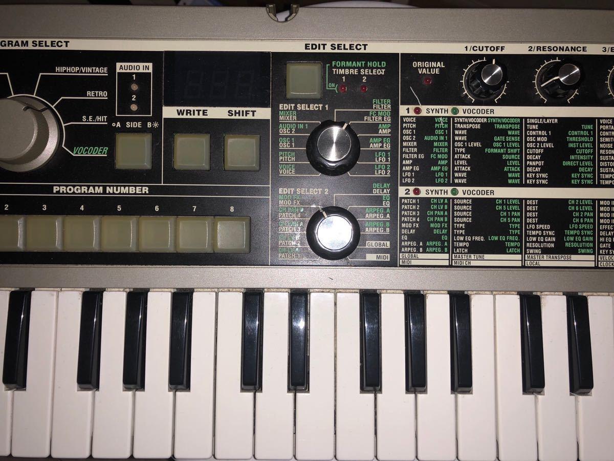 Korg コルグ microkorg synthesizer マイクロコルグ ボコーダー シンセサイザー micro korg_画像3