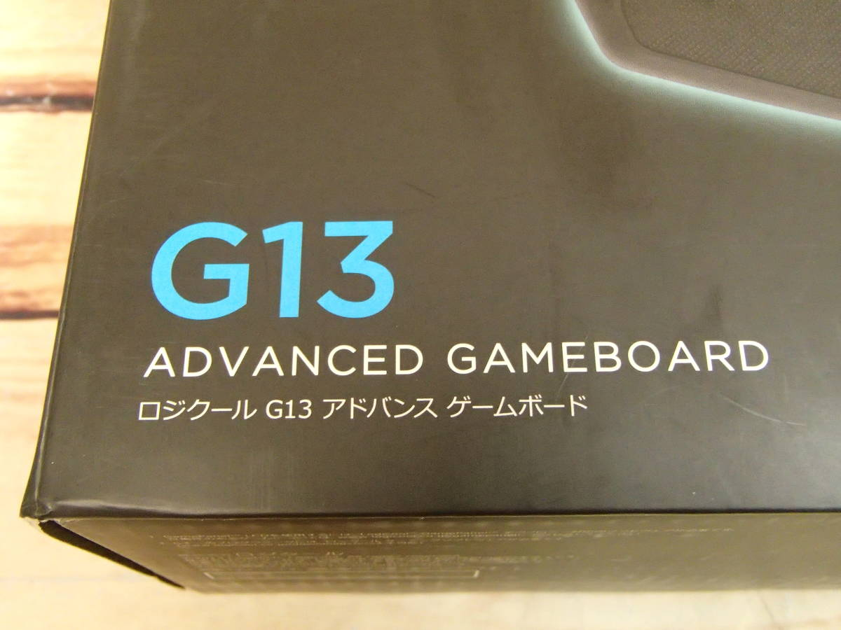 ●Logicool ロジクール G13r Advanced Gameboard アドバンスゲームボード ジャンク●_画像7
