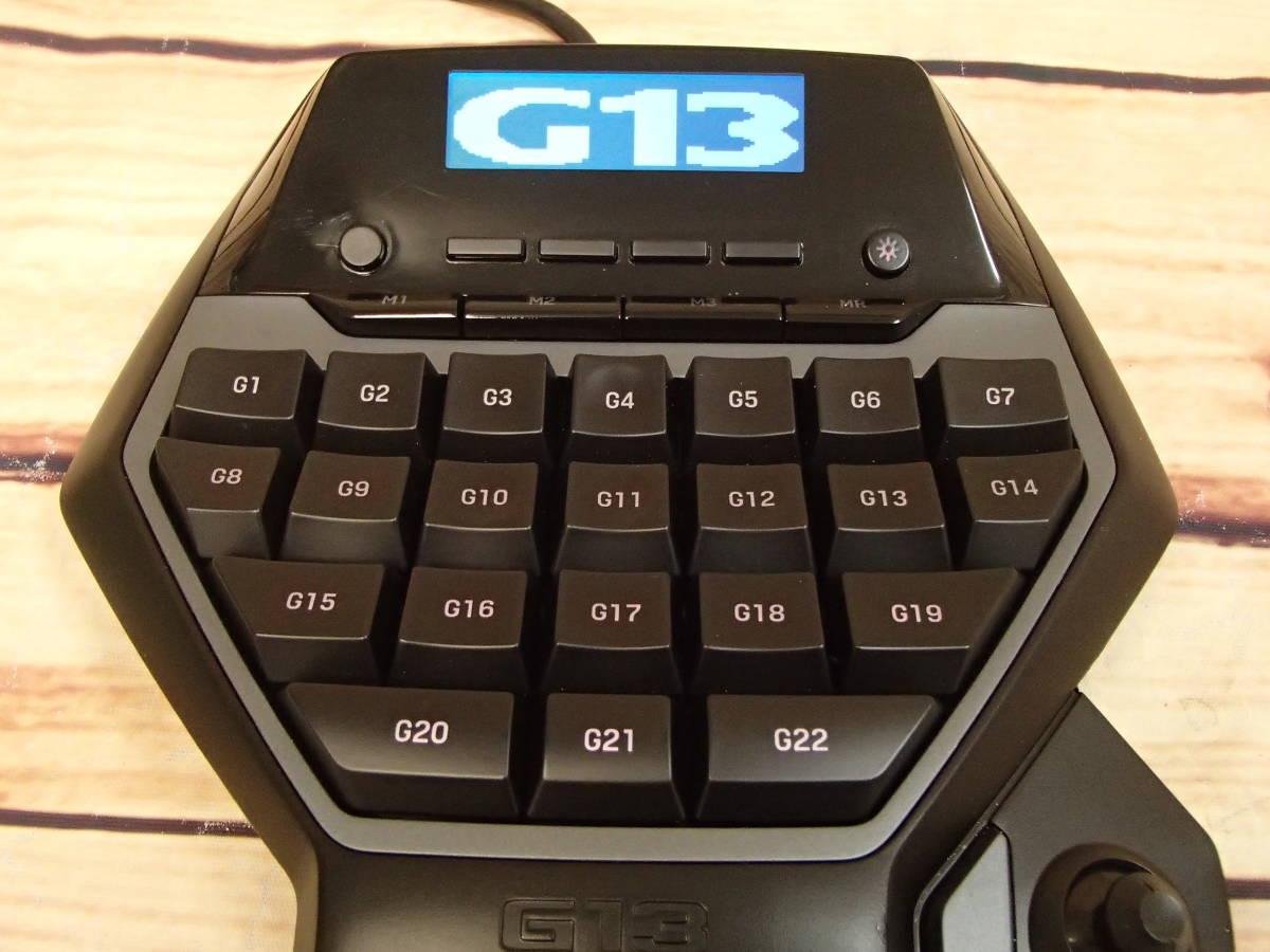 ●Logicool ロジクール G13r Advanced Gameboard アドバンスゲームボード ジャンク●_画像5