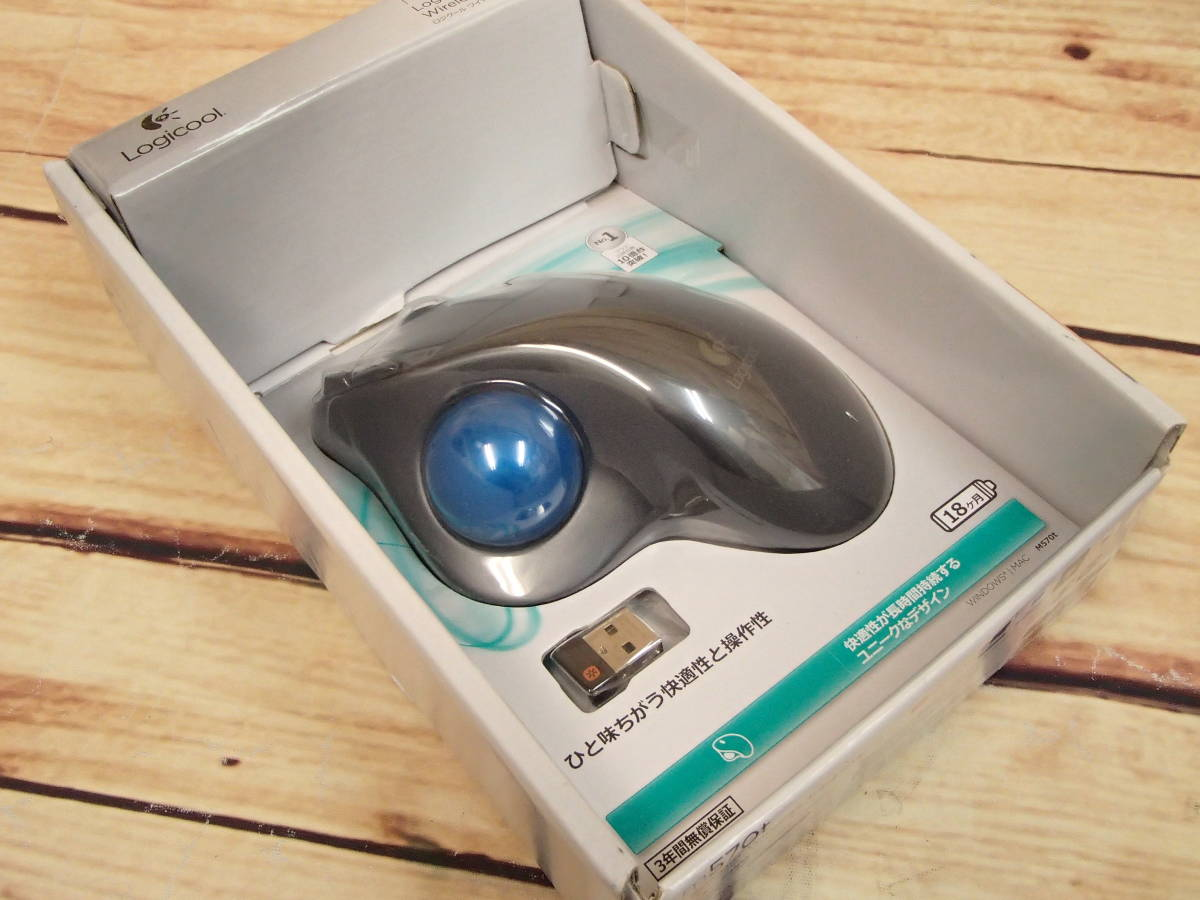◎◎Logicool ロジクール ワイヤレストラックボール M570t Wireless Trackball◎◎