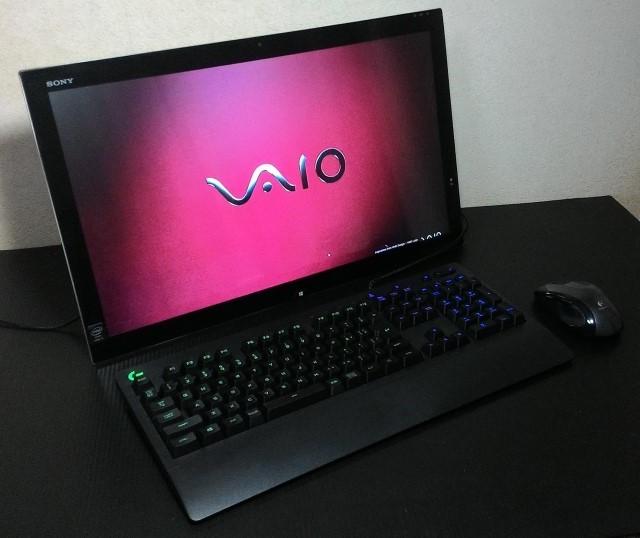 SONY VAIO TAP21 ( SVT21218DJB )/i5-4200U /8GB /256GB SSD + 2TB HDD /21.5インチ FHD /BDドライブ _画像2