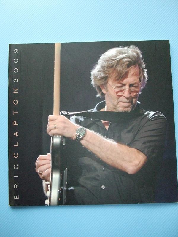『Eric Clapton』クラプトン コンサートパンフレット 1974~2014の20公演(全公演) おまけ付き_画像6