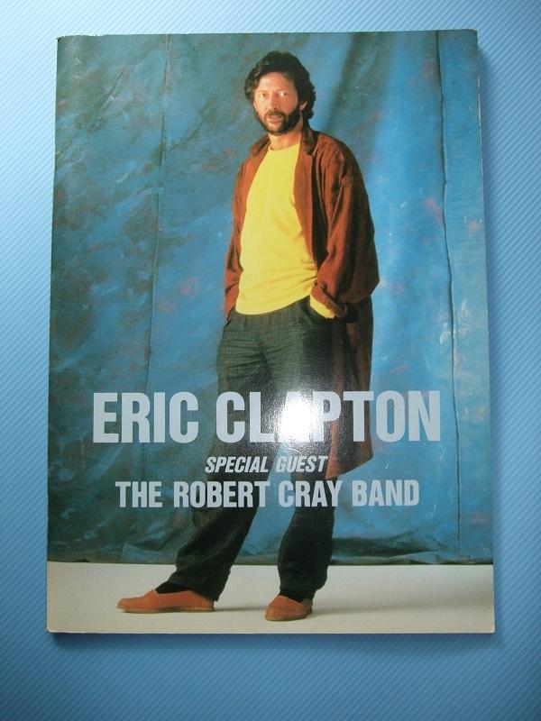 『Eric Clapton』クラプトン コンサートパンフレット 1974~2014の20公演(全公演) おまけ付き_画像5