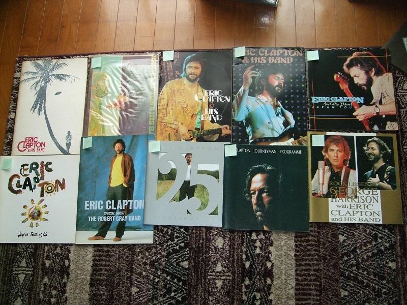 『Eric Clapton』クラプトン コンサートパンフレット 1974~2014の20公演(全公演) おまけ付き