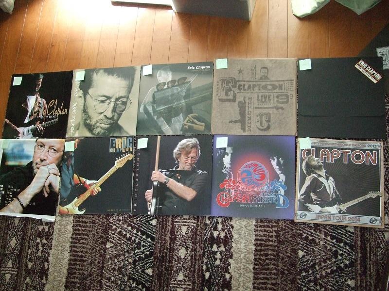 『Eric Clapton』クラプトン コンサートパンフレット 1974~2014の20公演(全公演) おまけ付き_画像2