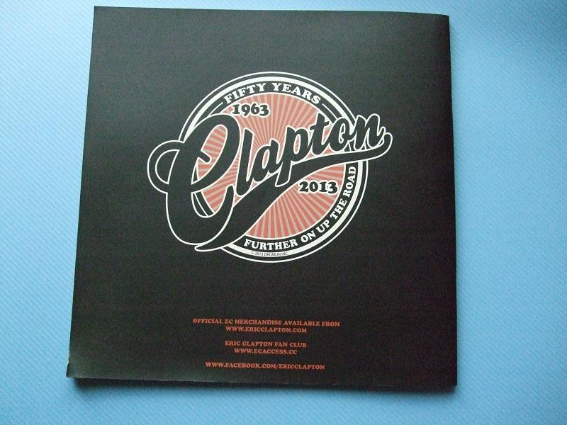 『Eric Clapton』クラプトン コンサートパンフレット 1974~2014の20公演(全公演) おまけ付き_画像8