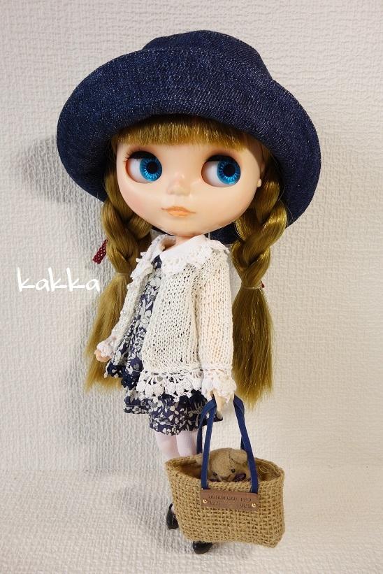★ブライスアウトフィット★Blythe outfit★リネンの刺繍のお洋服★_画像4