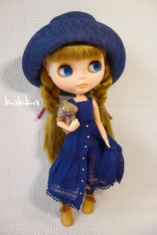 ★ブライスアウトフィット★Blythe outfit★リネンの刺繍のお洋服★_画像8
