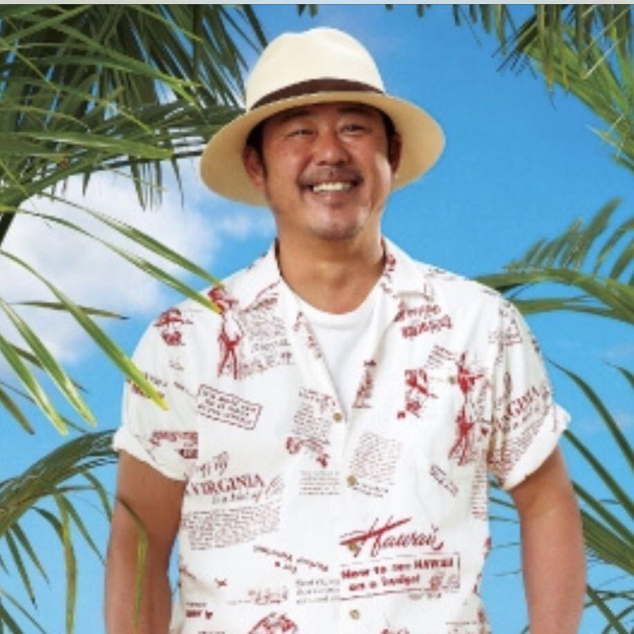 パパス カタログ掲載モデル コットンアロハシャツ ココナッツボタン サイズ「50L」 日本製 PAPAS 良品