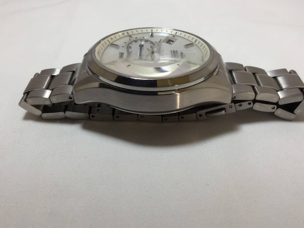 ○CITIZEN シチズン EXCEED エクシード E610-T018980 メンズ gn-4w-s 時計 WATCH ソーラー電波腕時計_画像4