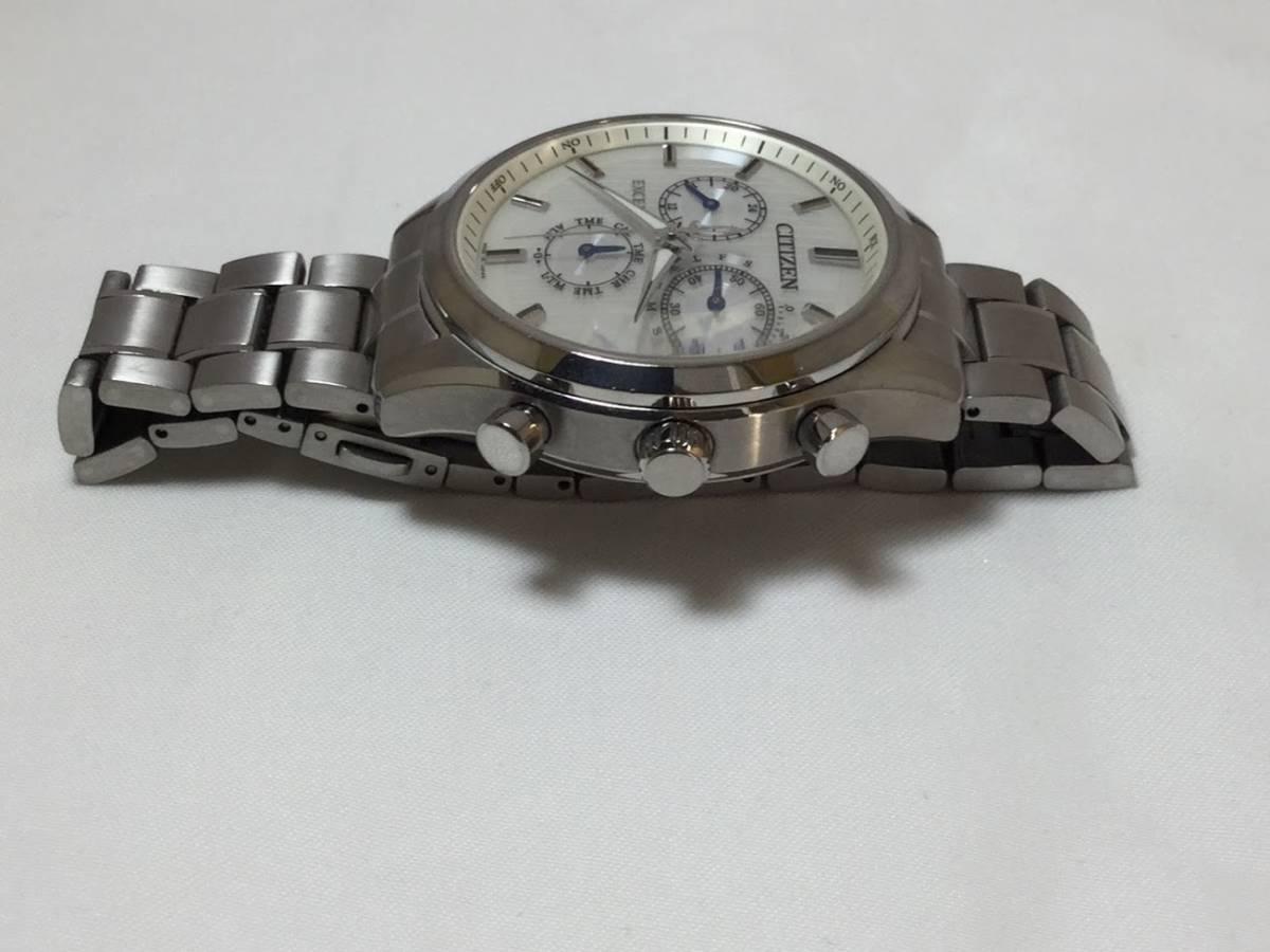 ○CITIZEN シチズン EXCEED エクシード E610-T018980 メンズ gn-4w-s 時計 WATCH ソーラー電波腕時計_画像5