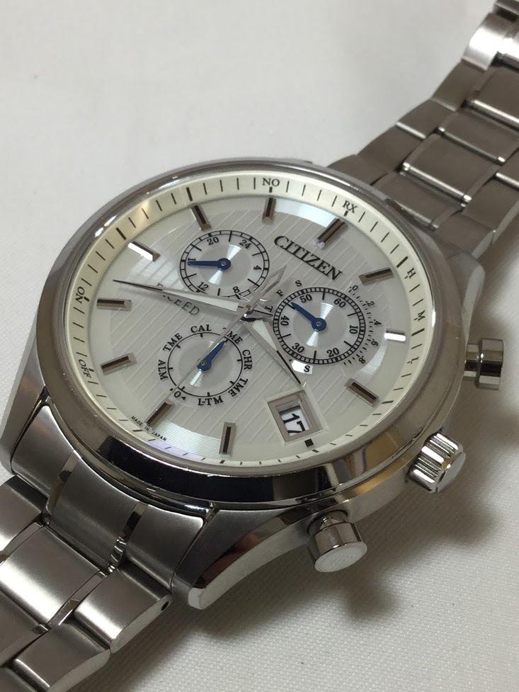 ○CITIZEN シチズン EXCEED エクシード E610-T018980 メンズ gn-4w-s 時計 WATCH ソーラー電波腕時計_画像7